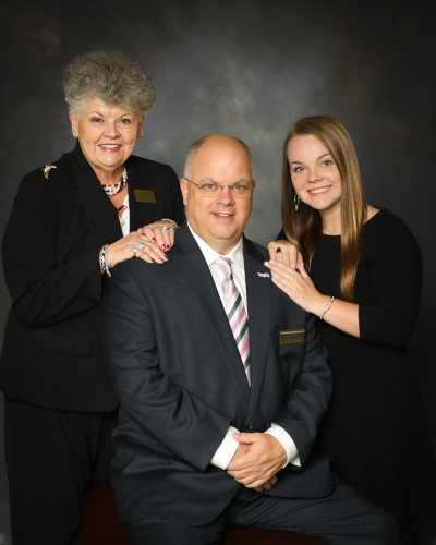 Barbara P. Poole, Lane Hobbs, and Hailey Hobbs