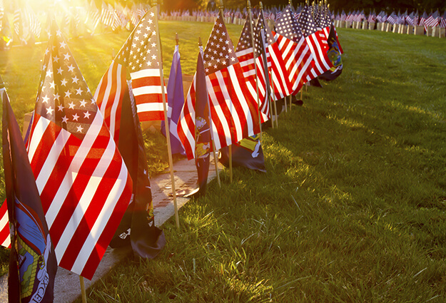 Honor A Veteran. Site Image. Lakeland Funeral Home