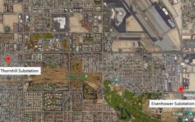 SCE Completes 1st ACCC Conductor Installation in Palm Springs