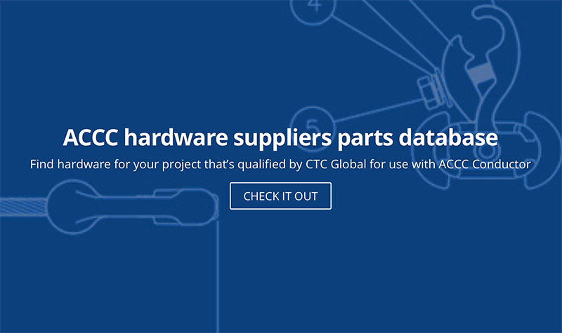 CTC Global Launches ACCC Hardware Suppliers & Part Number Database