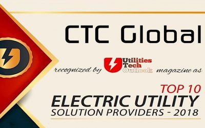 CTC Global Selected as a Top Ten Electric Utility Provider
