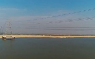Sterlite Power Completes 400 kV ACCC® Ganga River Crossing