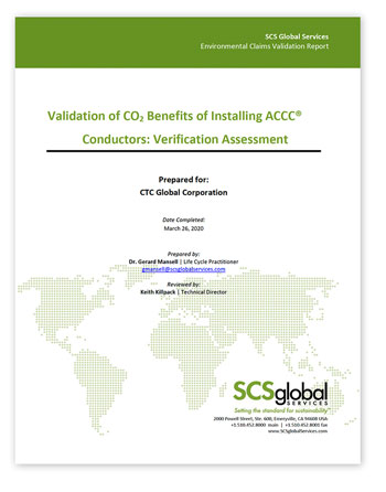 CTC Global SCS Certification Assessment Report 350x446px