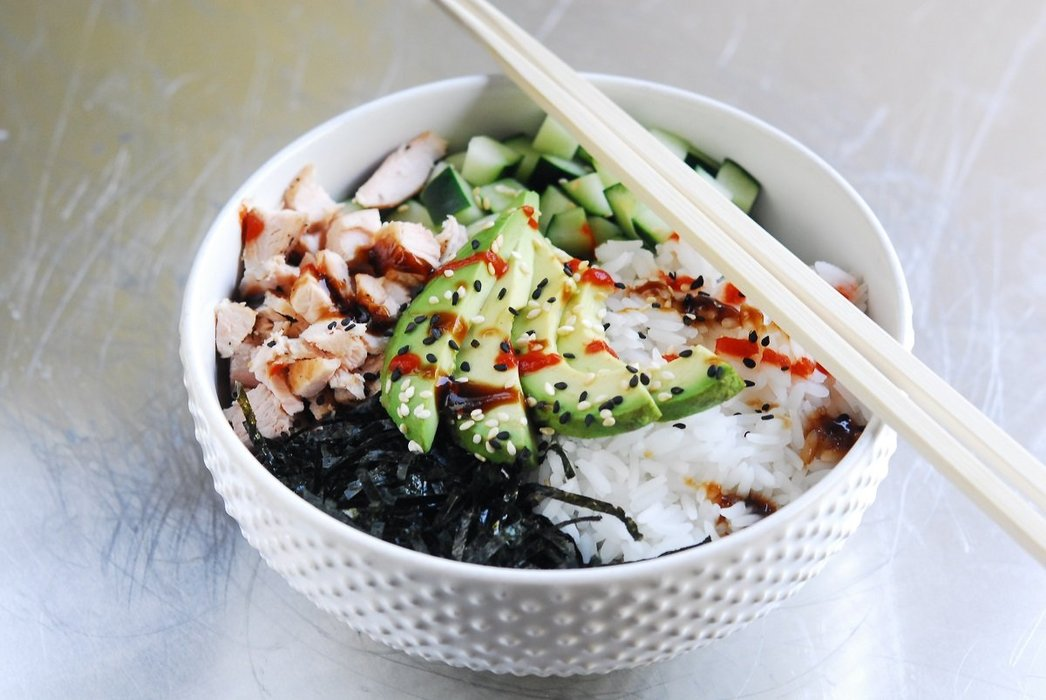 Salmon Sushi Bowl