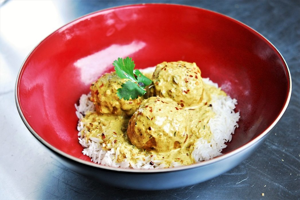 Classic Curry Chicken Meatballs