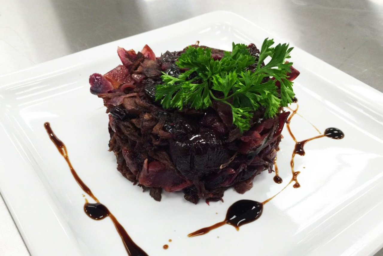 Braised Beef & Red Cabbage
