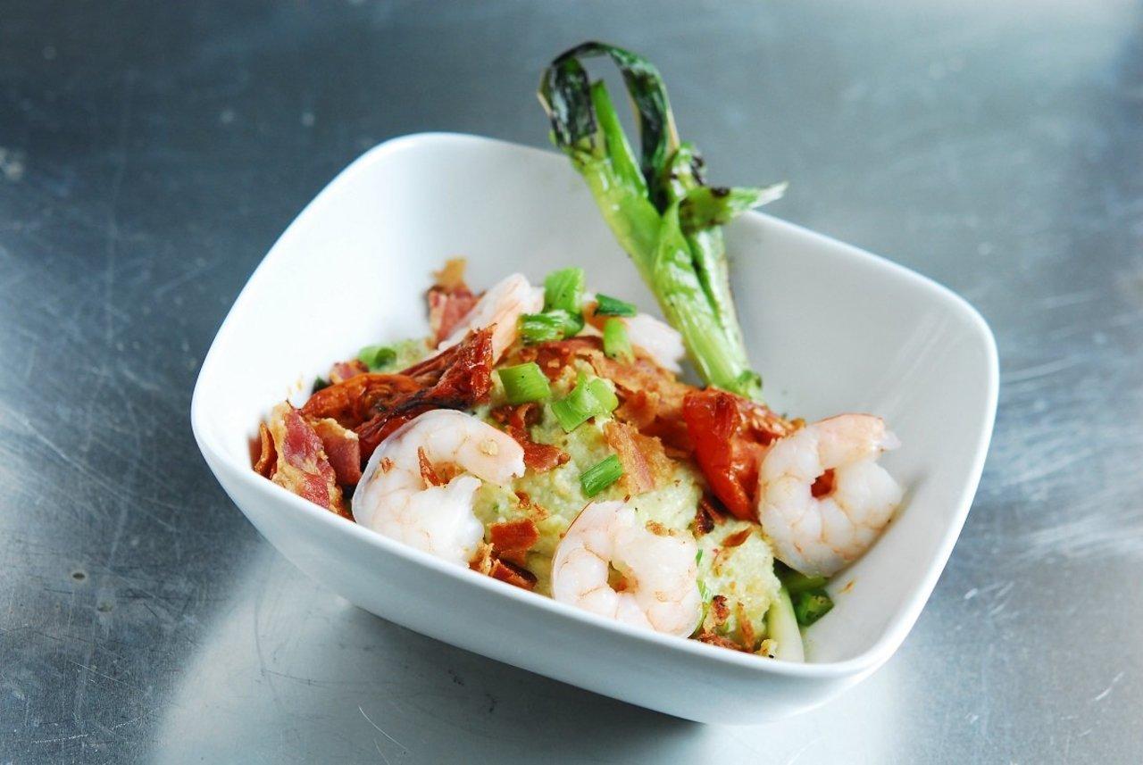 Poblano Shrimp & Grits