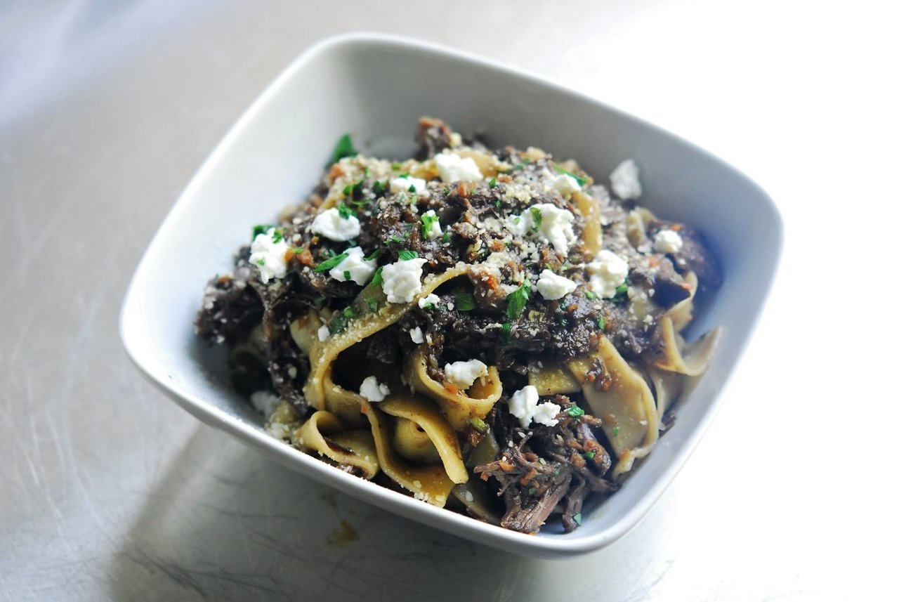 Two Chefs Online - Lamb Ragu with Goat Cheese