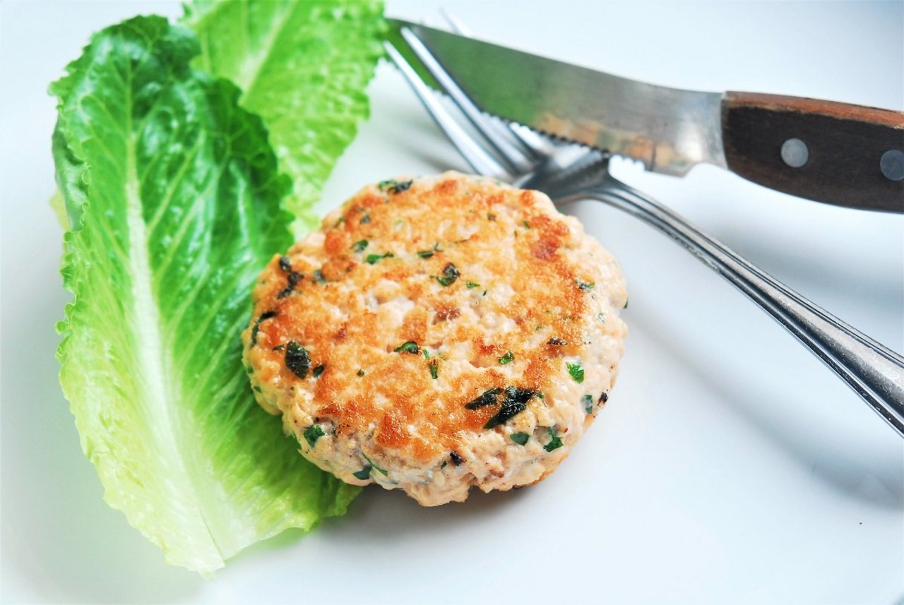 Side - Wild Caught Alaskan Salmon Burger