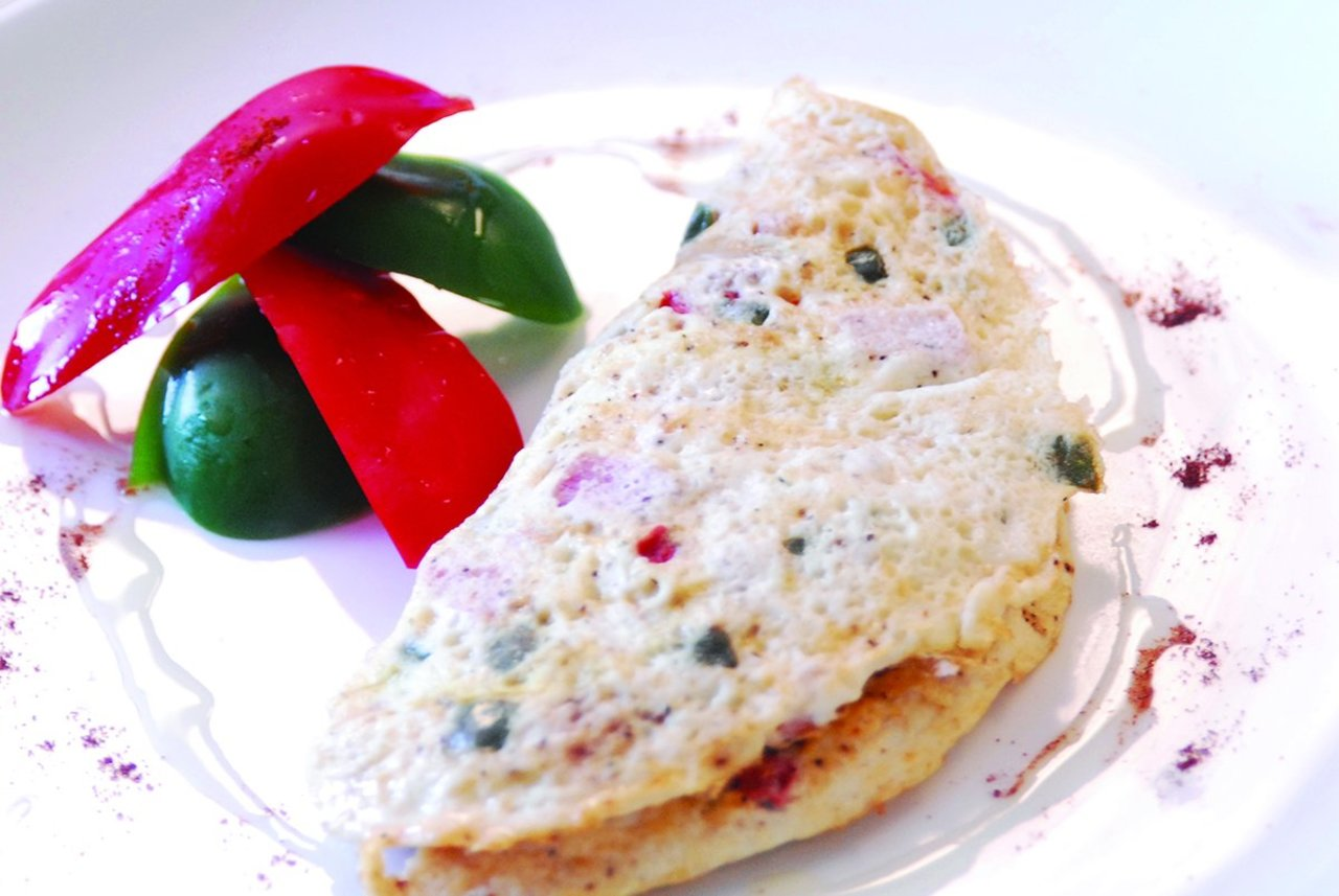 Two Chefs Online - Turkey & Spinach Omelet