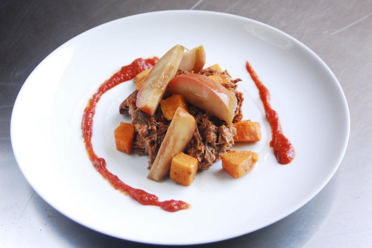 Paleo BBQ Pork Plate