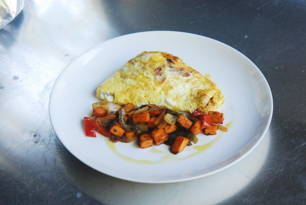 Paleo Chorizo Omelet