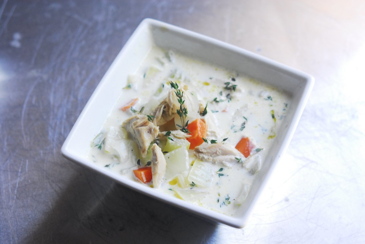 Two Chefs Online - Classic Turkey Soup