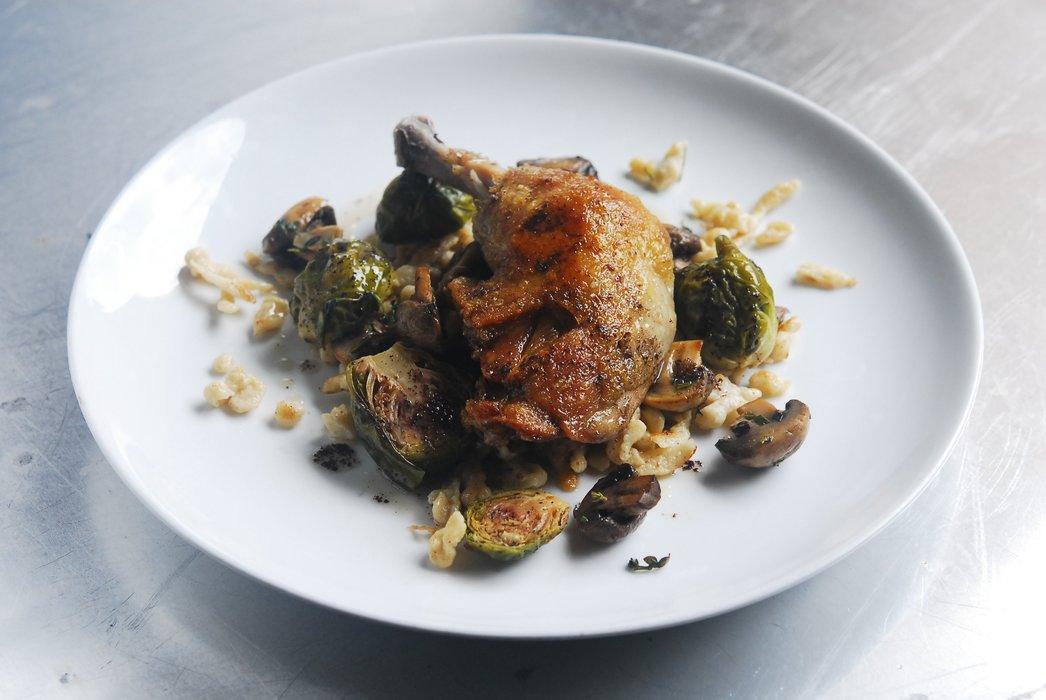 Chicken & Spaetzle