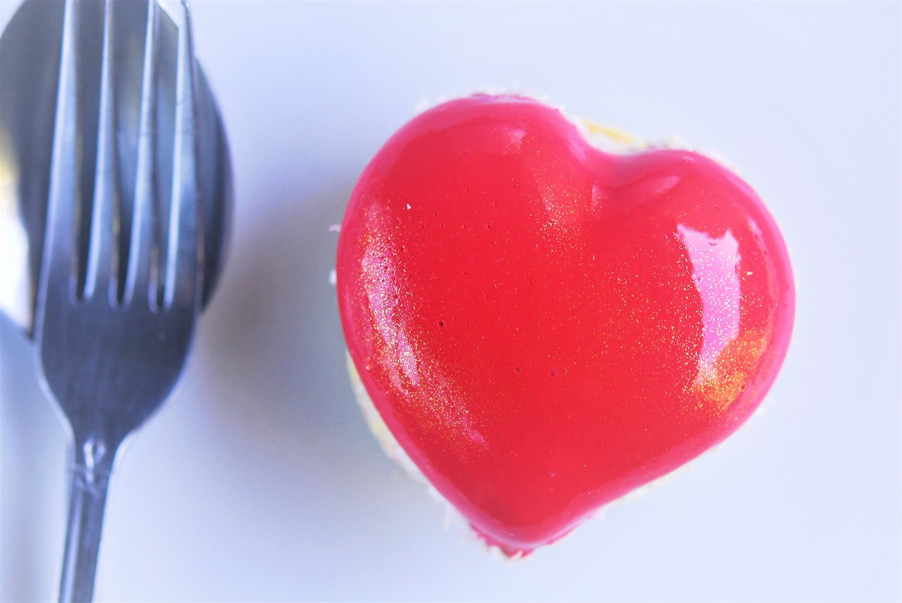 Passionfruit Berry Heart