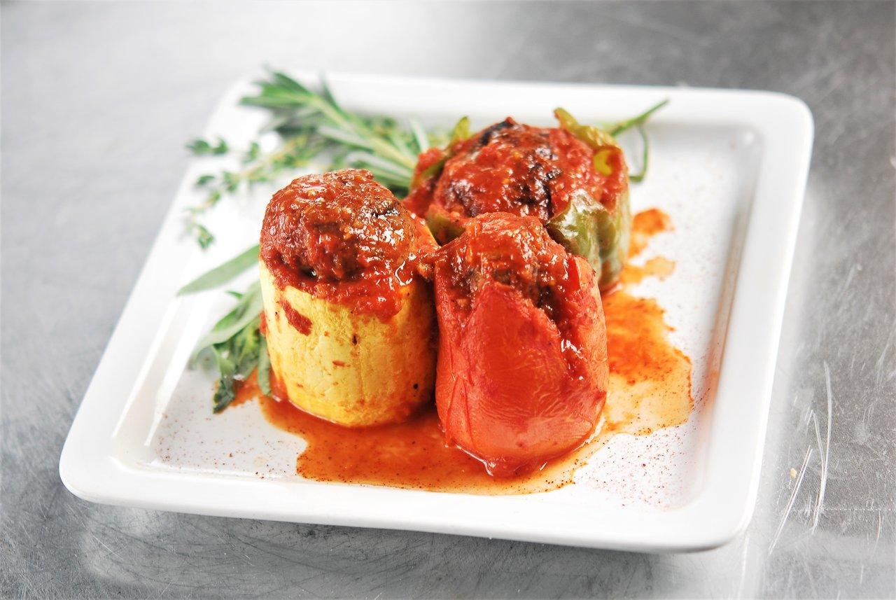 Turkey Stuffed Vegetables