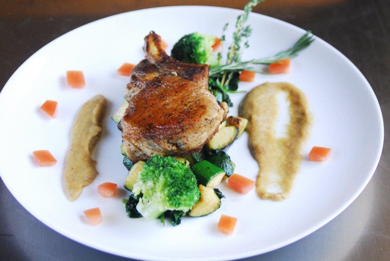 Paleo Roasted Pork Chop