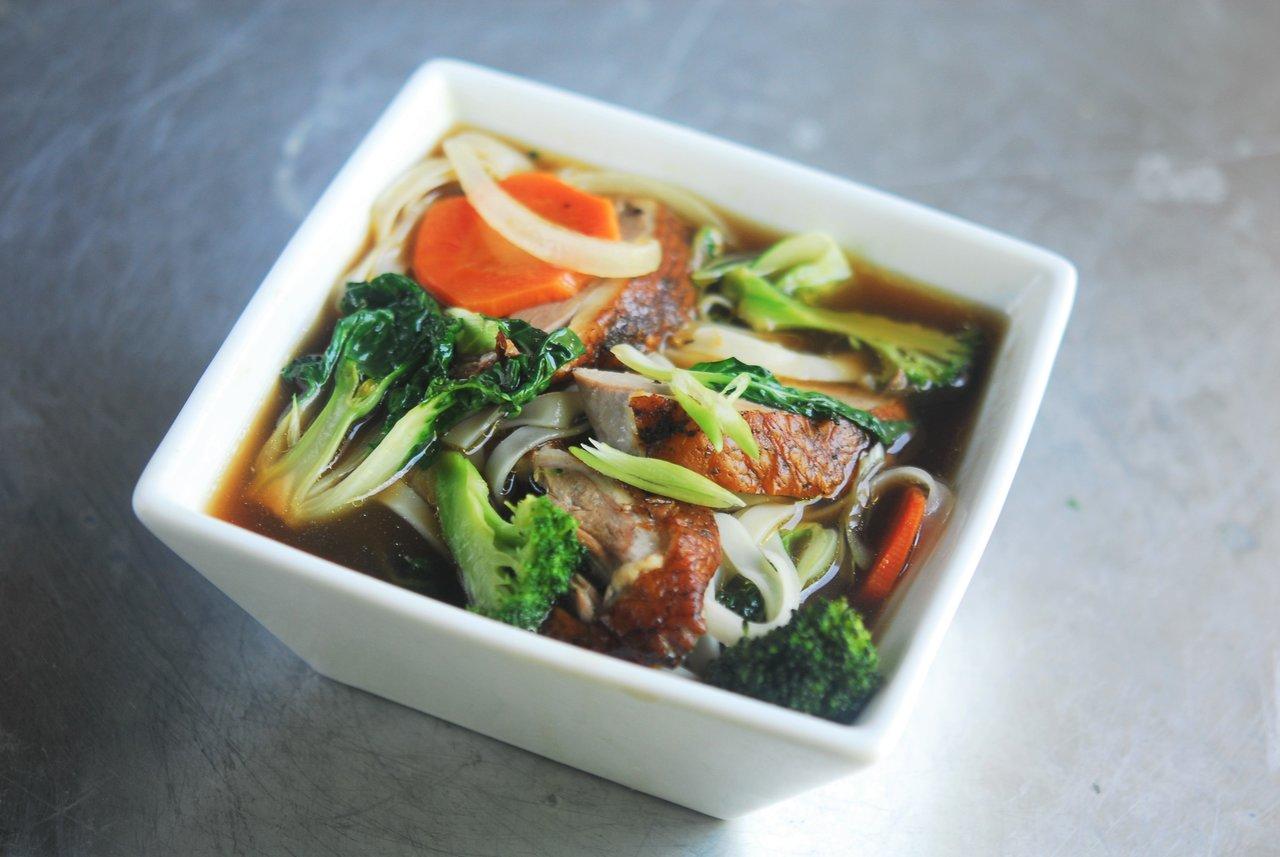 Duck Confit Vegetable Soup