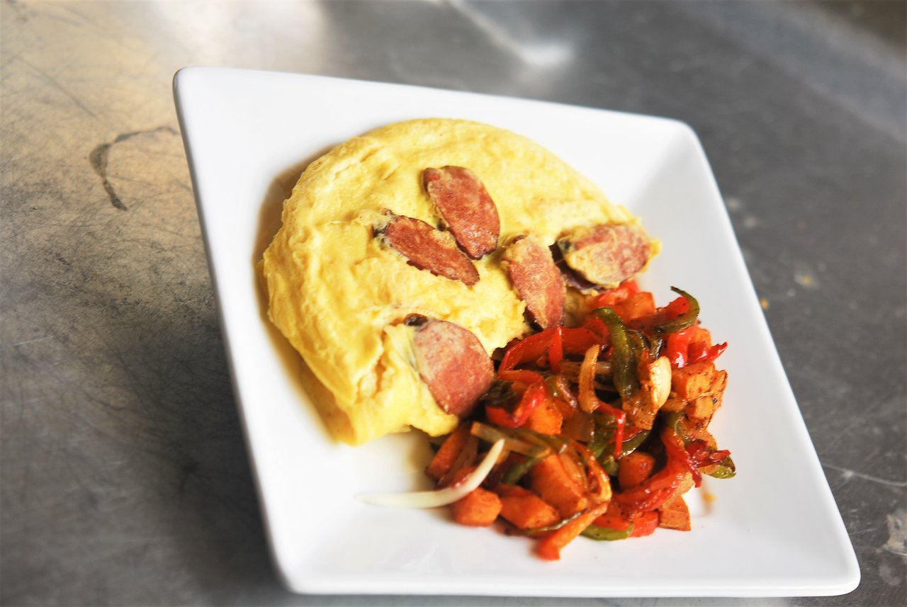 Paleo Cajun Omelet