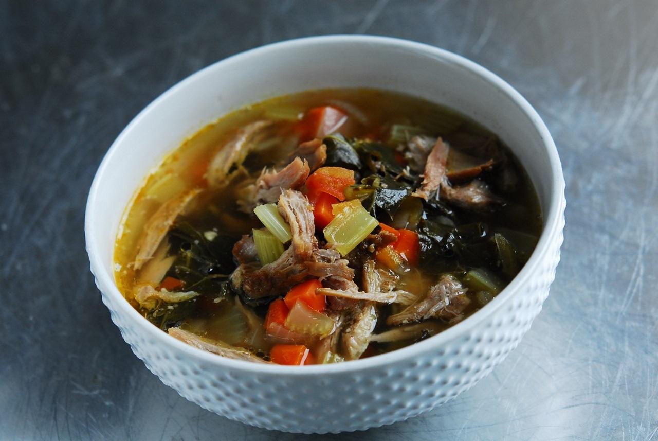 Pulled Pork Soup