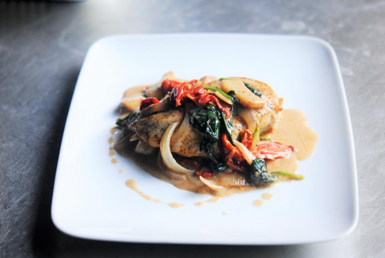 Two Chefs Online - Paleo Creamy Tuscan Chicken