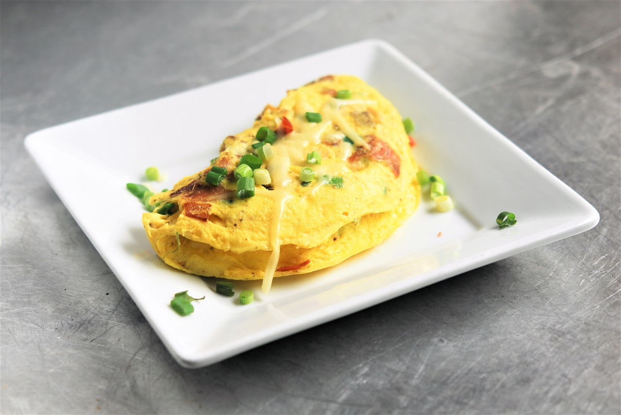 Classic French Country Style Omelet