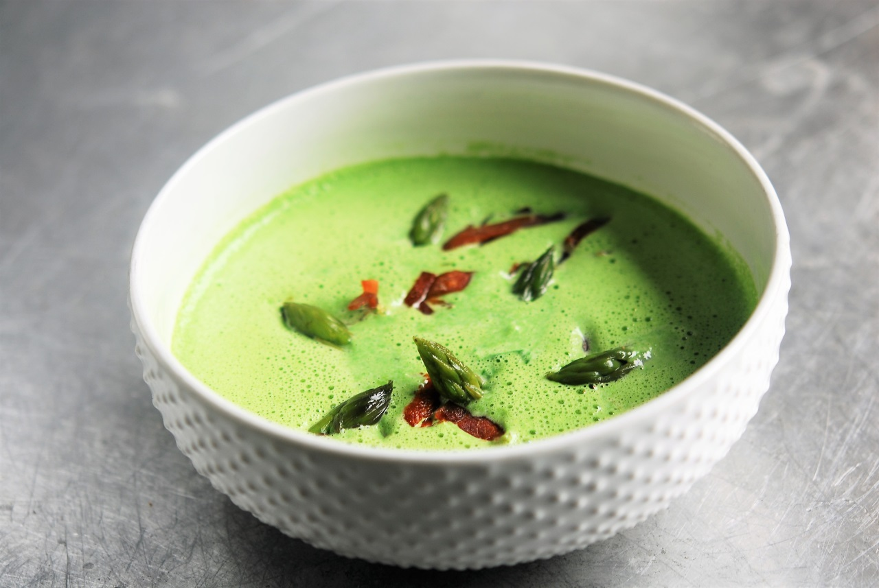 Two Chefs Online - Asparagus Soup