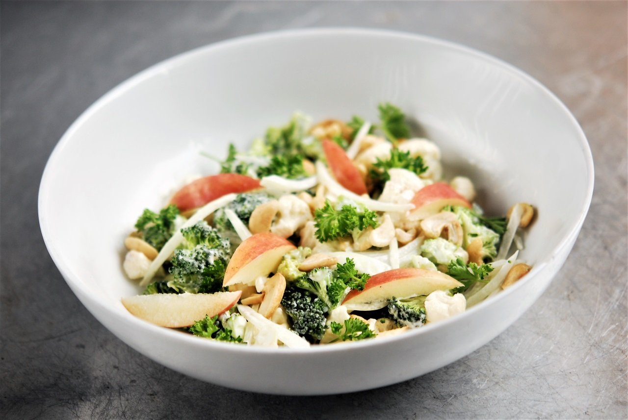 Two Chefs Online - Veggie Chopped Salad