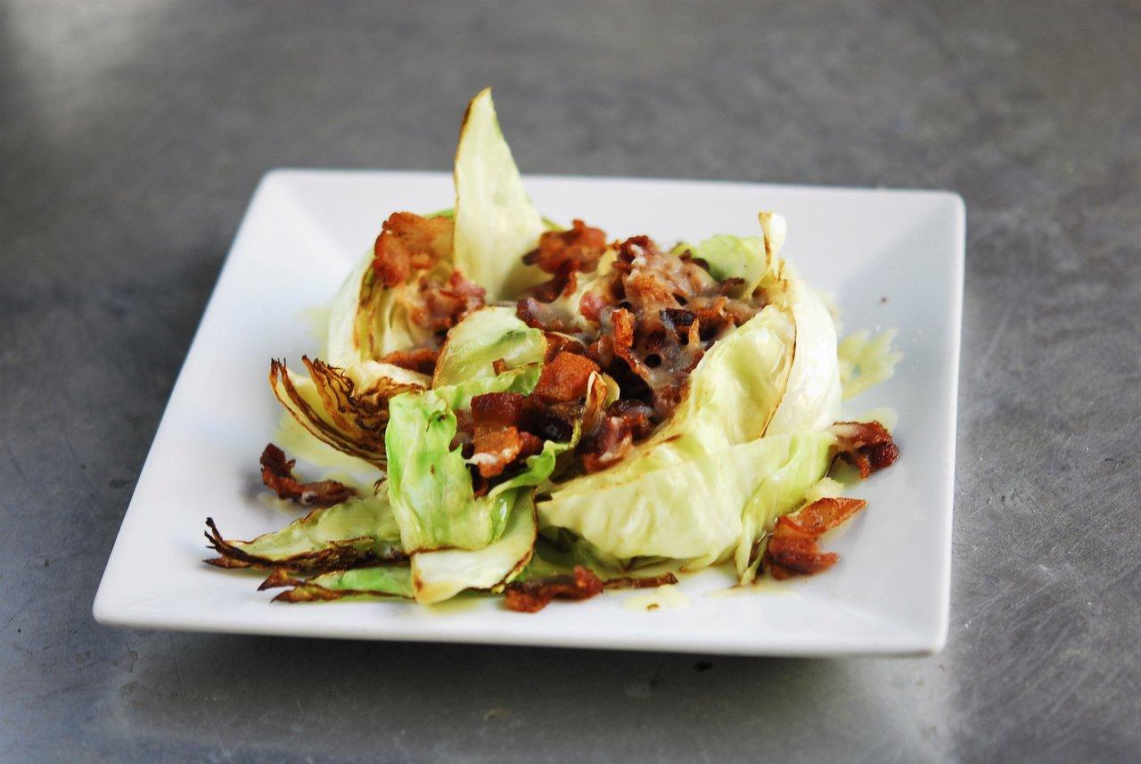 Bacon Parmesan Stir Fried Cabbage