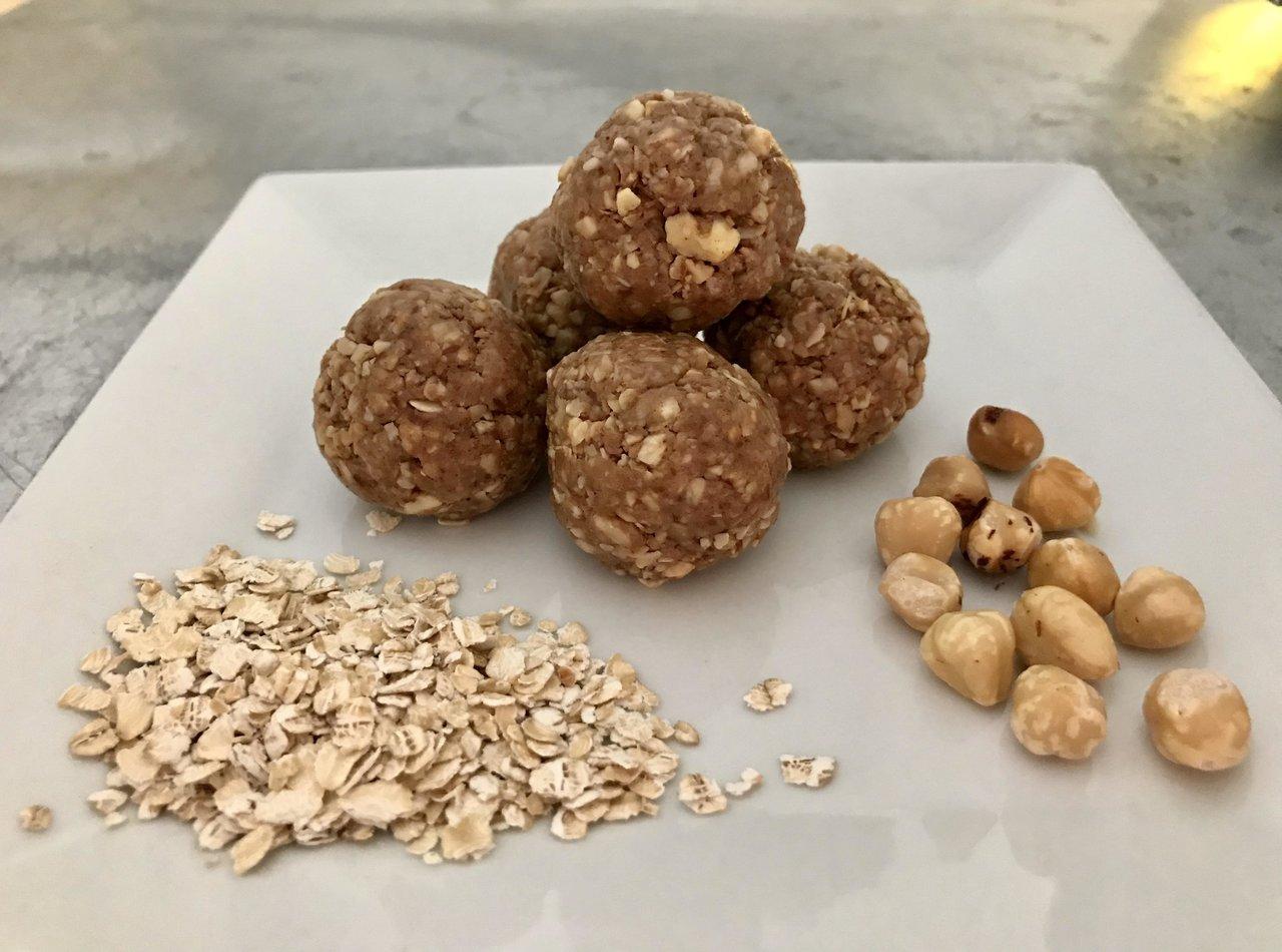 Peanut Butter Hazelnut Crunch Power Shots
