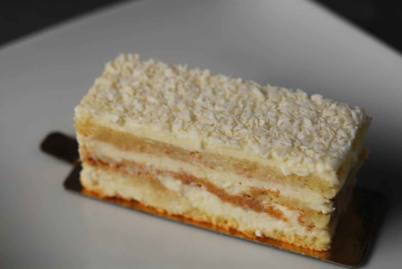 Coconut Mousse Layer Cake
