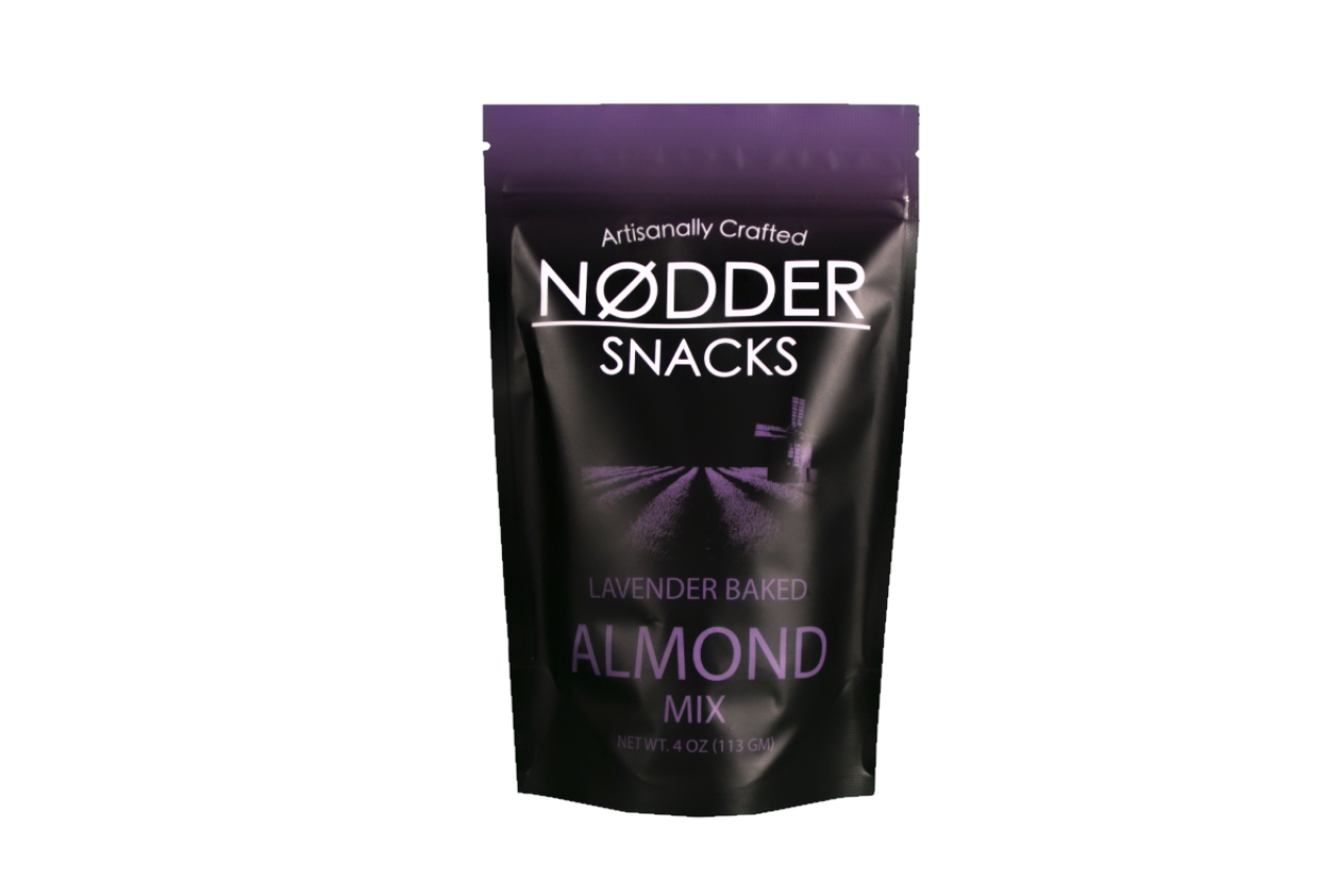 Nodder Snacks Lavender Baked Almond Mix