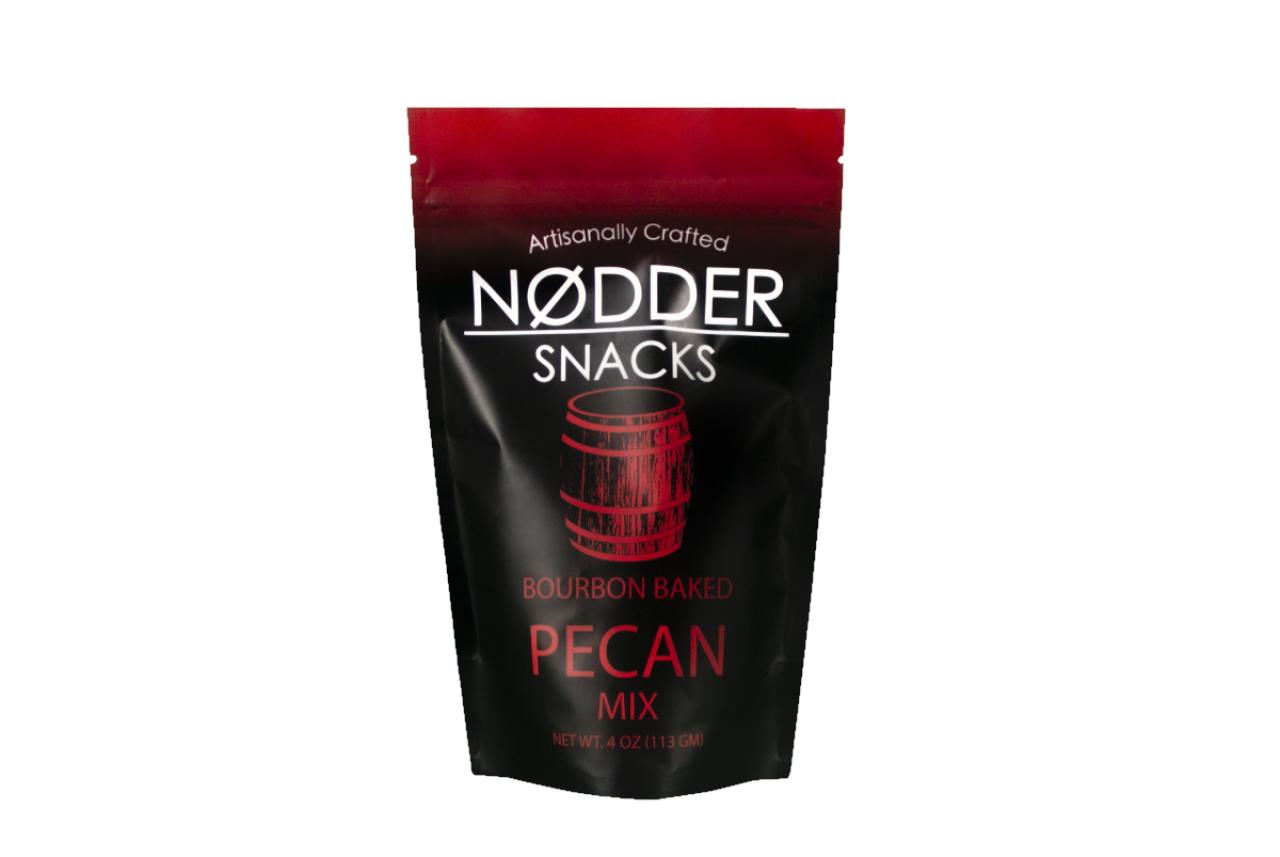 Nodder Snacks Bourbon Baked Pecan Mix