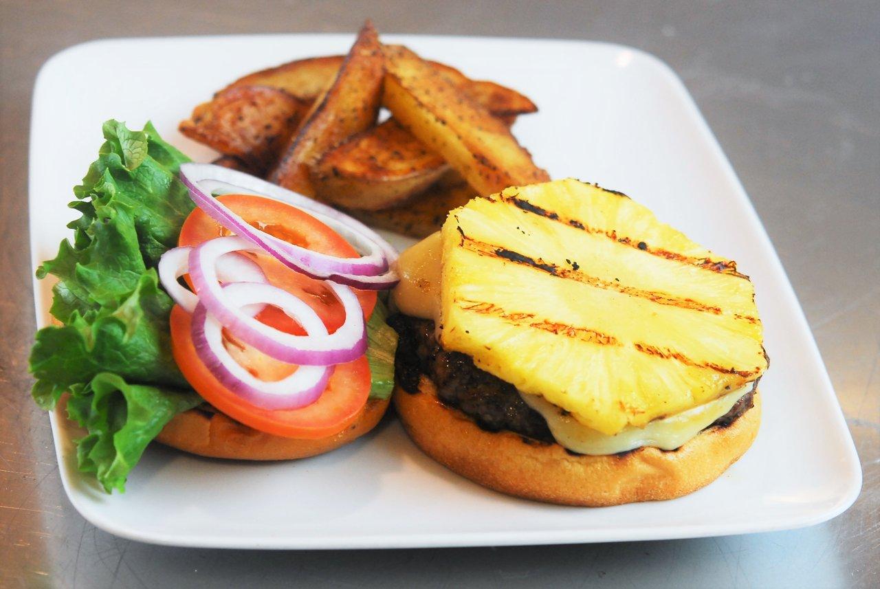 Hawaiian Beyond Meat Burger