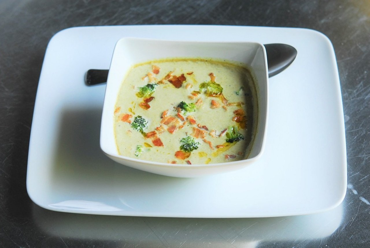 Broccoli Potato Cheddar Soup