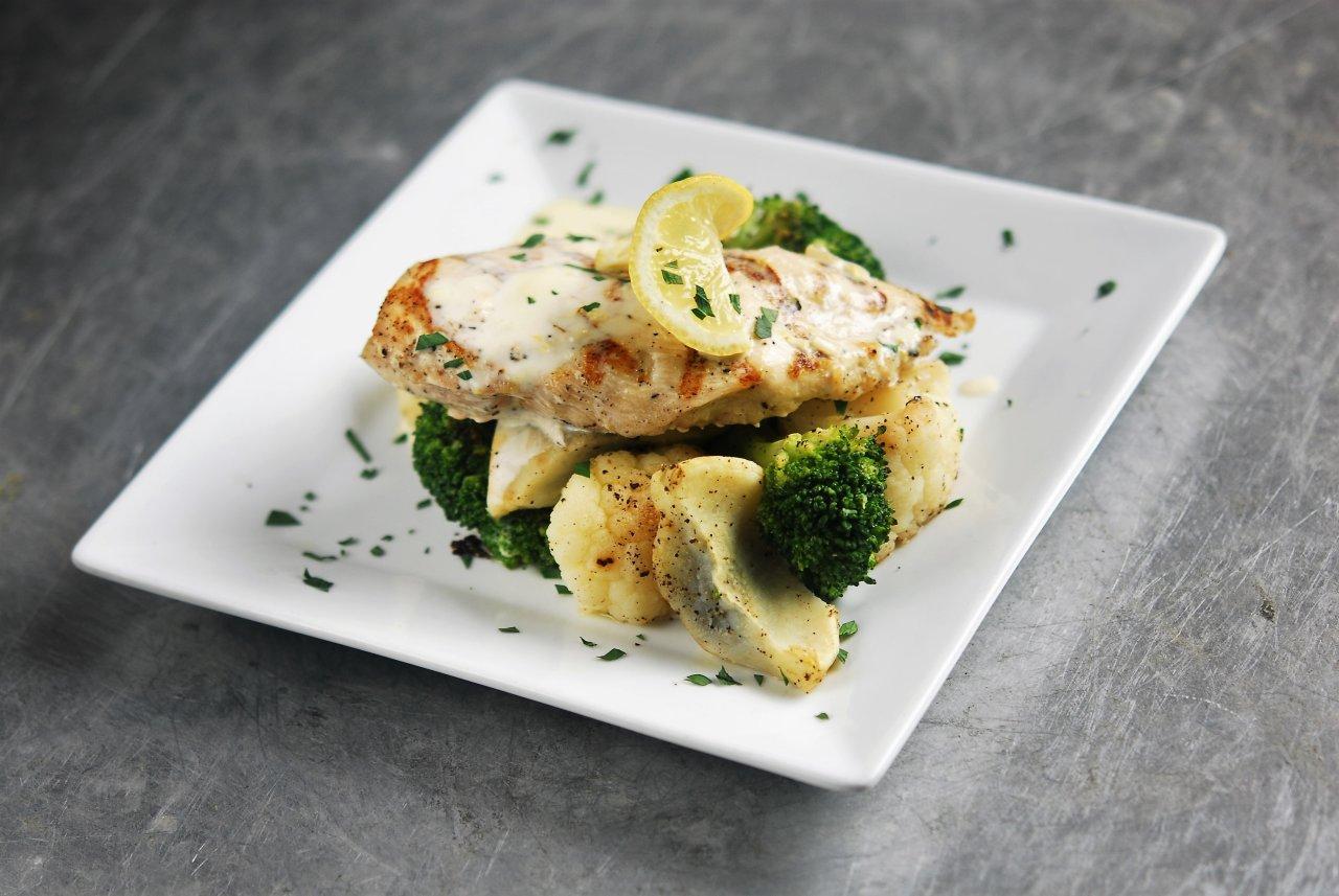 Lemon Cream Chicken & Vegetables
