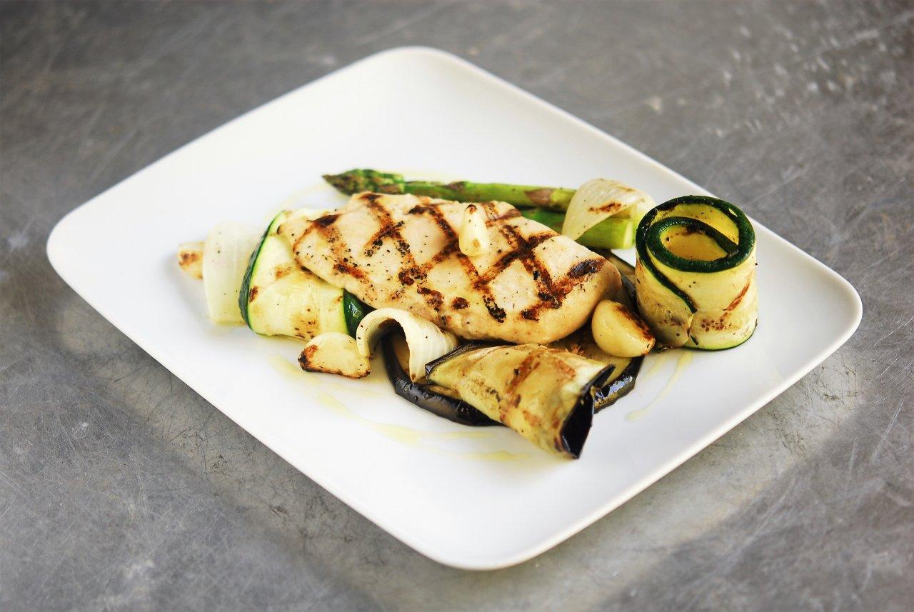 Chicken Breast & Grilled Vegetables