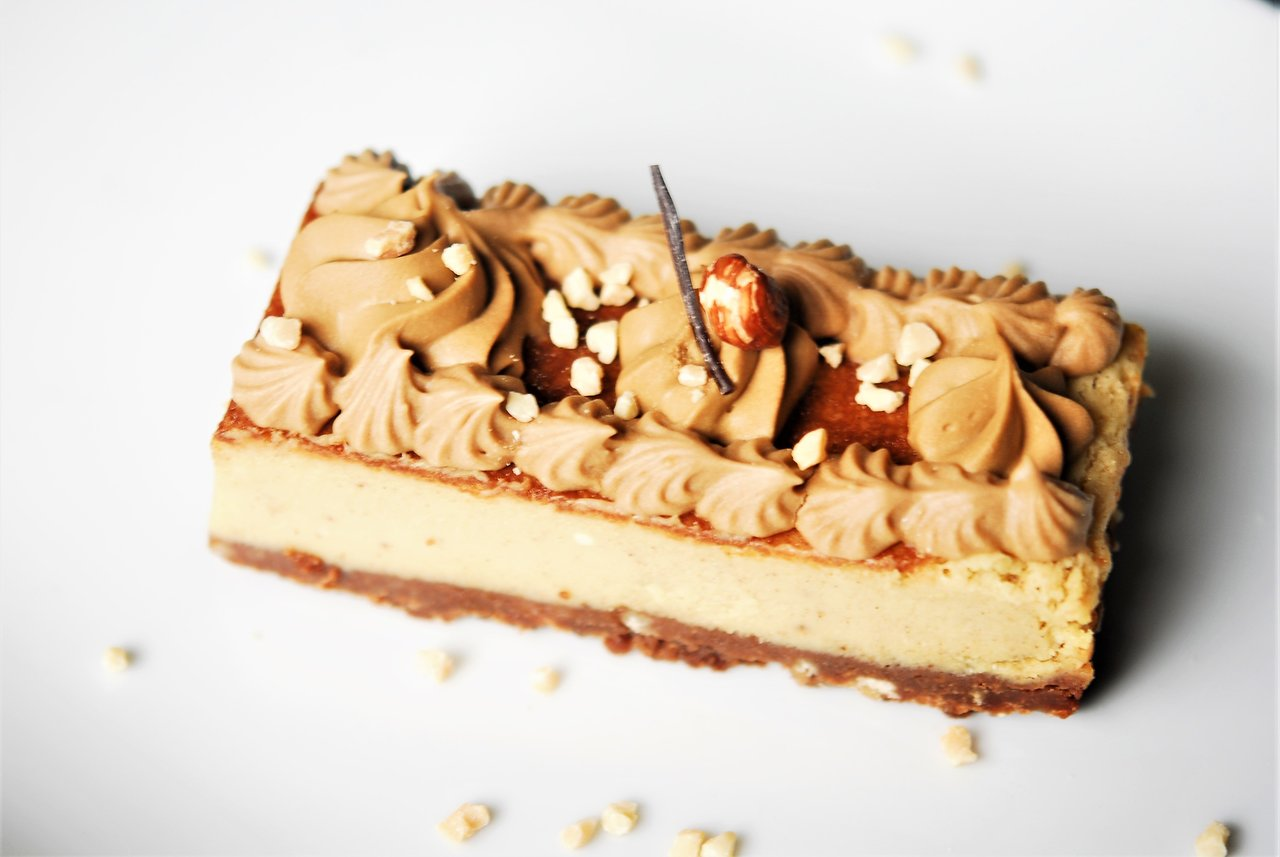 Praline Spiced Cheesecake