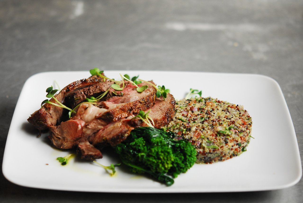 Classic Rosemary Lamb & Broccolini