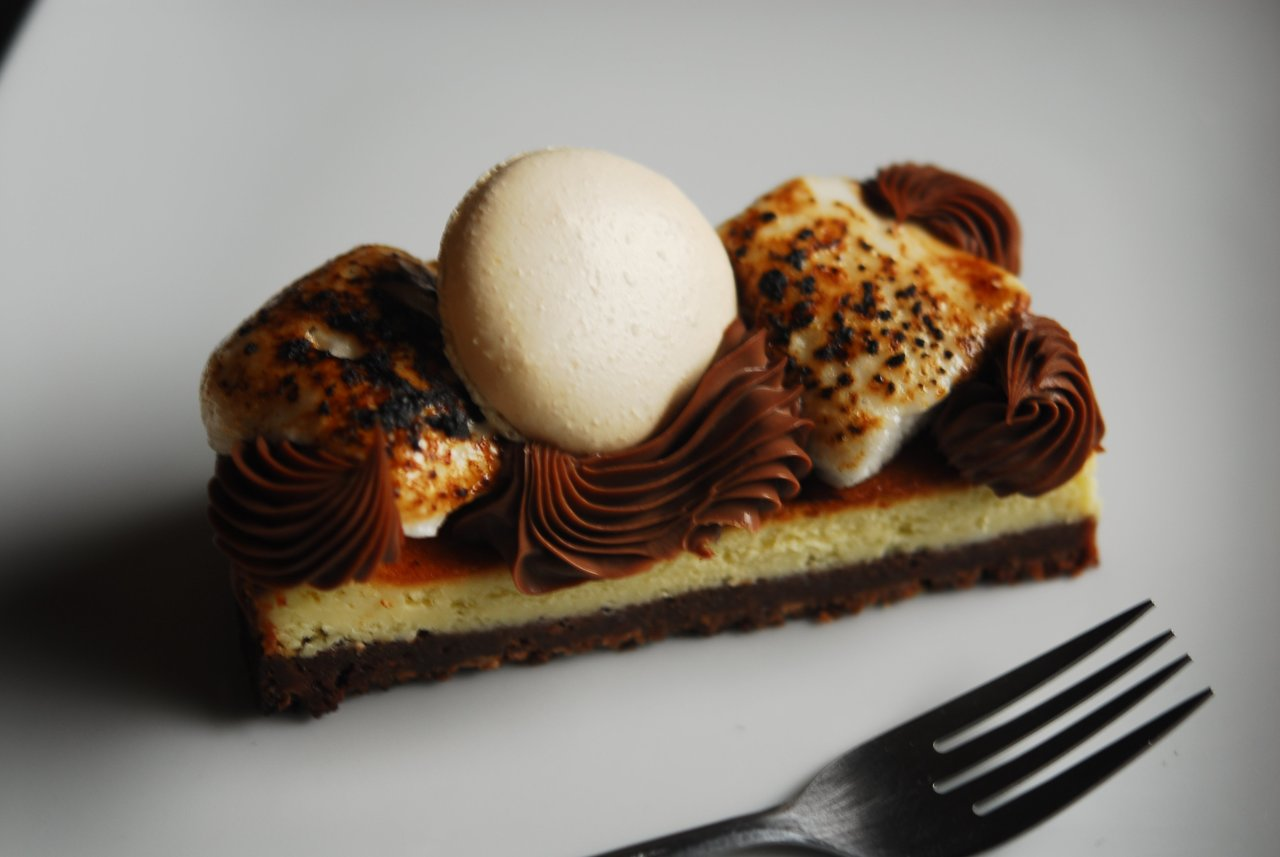 GF Smores Cheesecake