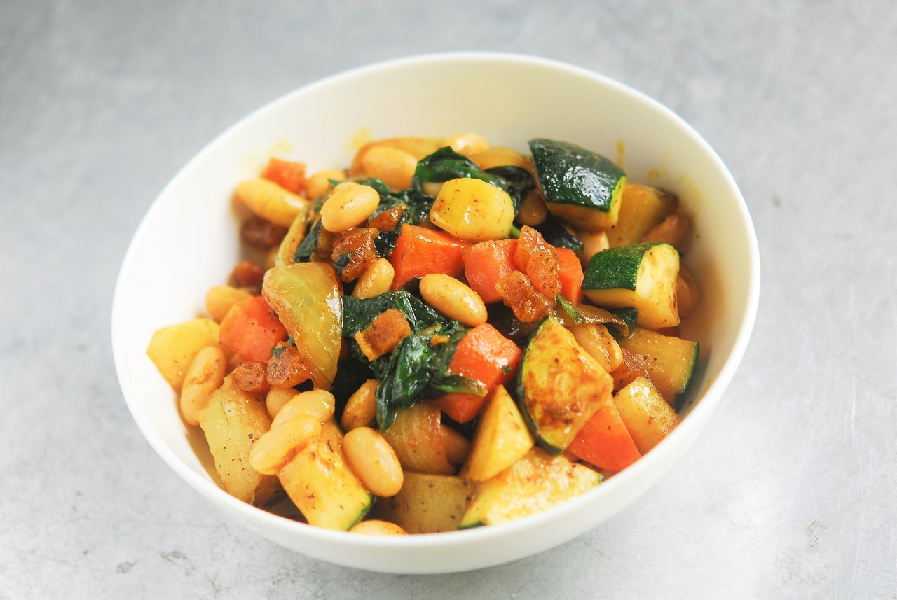 Two Chefs Online - Seven Vegetable Tajine
