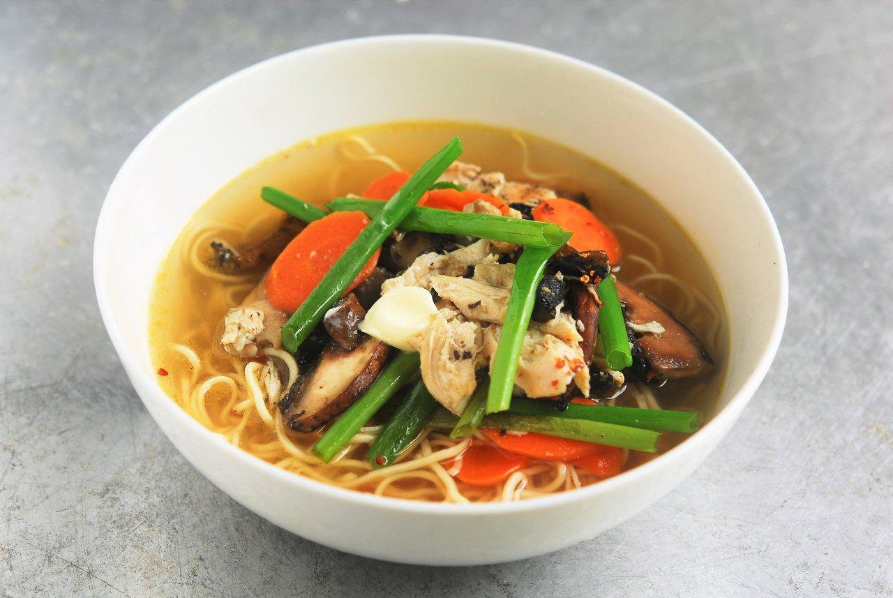 Two Chefs Online - Classic Chicken Ramen Soup