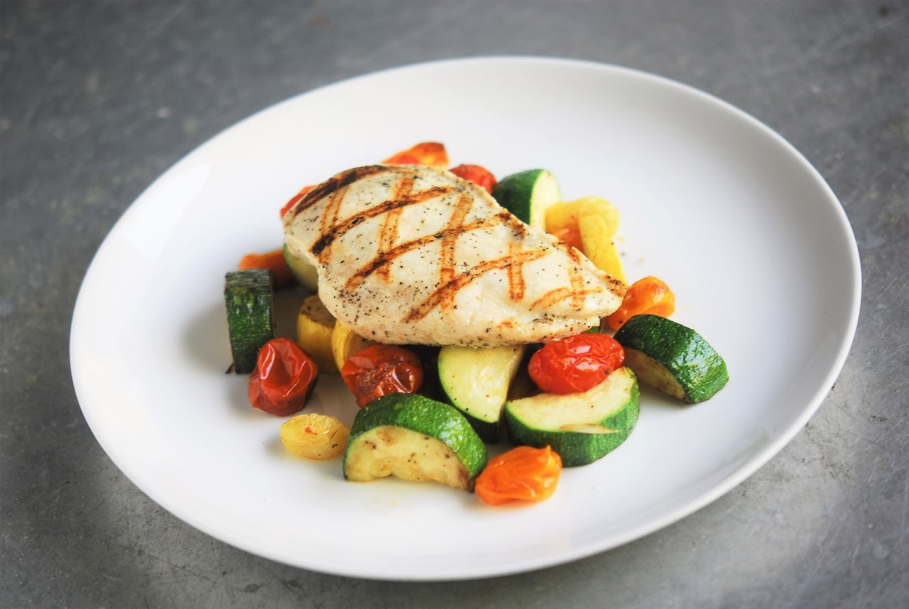 Two Chefs Online - Lemon Pepper Chicken & Grilled Squash
