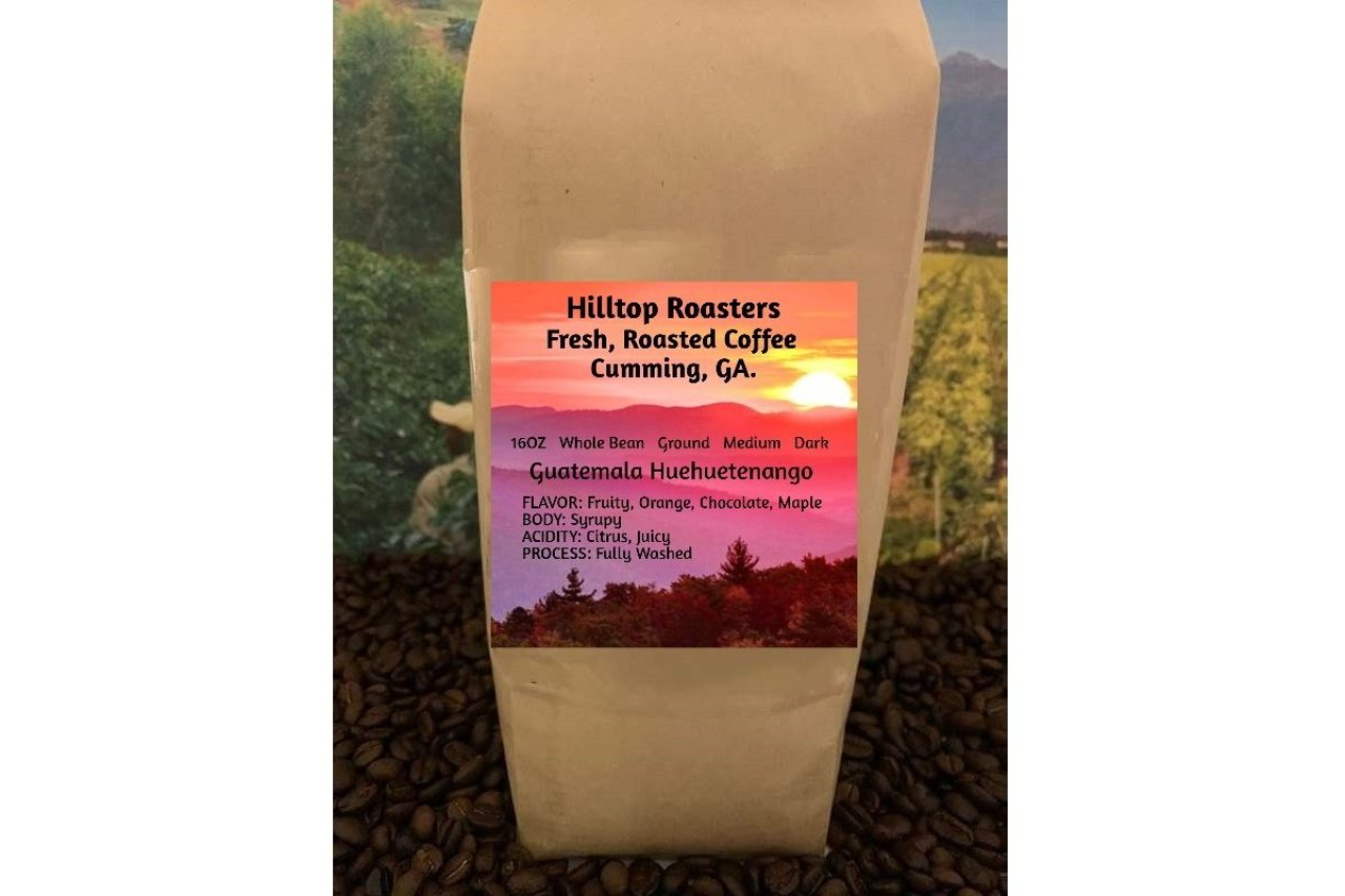 Hilltop Roasters - Guatemala Dark or Medium Roast Coffee