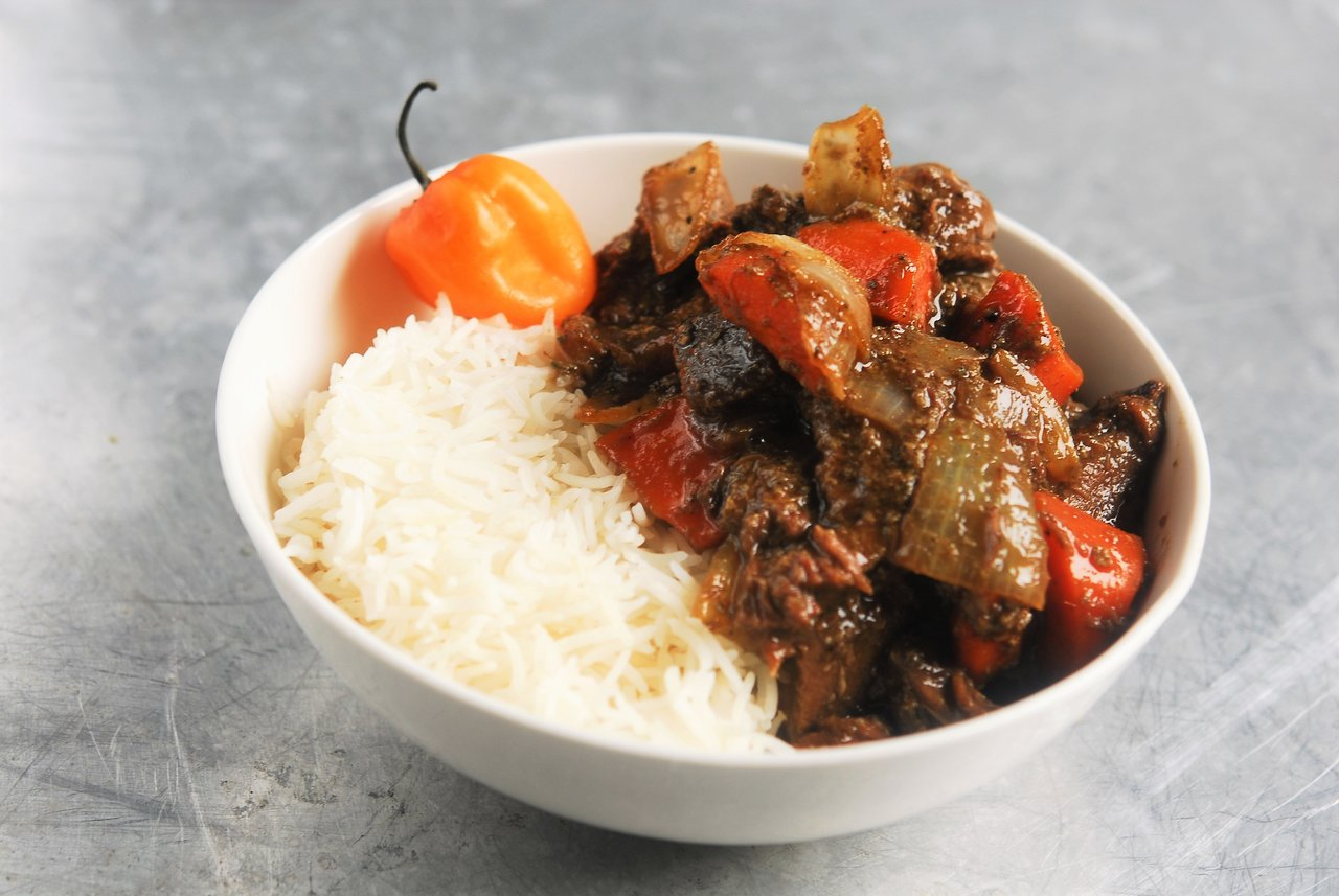 Two Chefs Online - Jamaican Beef Stew