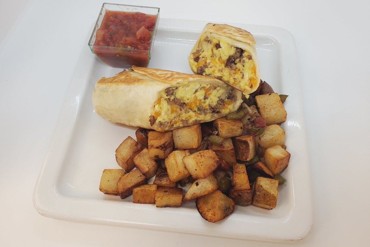 Wolfe's International - Sausage Breakfast Burrito