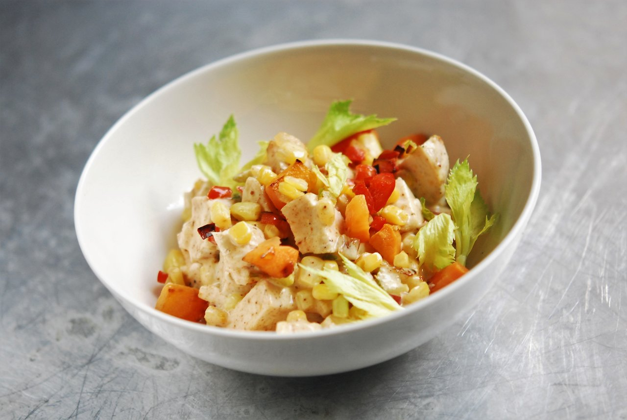 Low Country Blackened Chicken Salad
