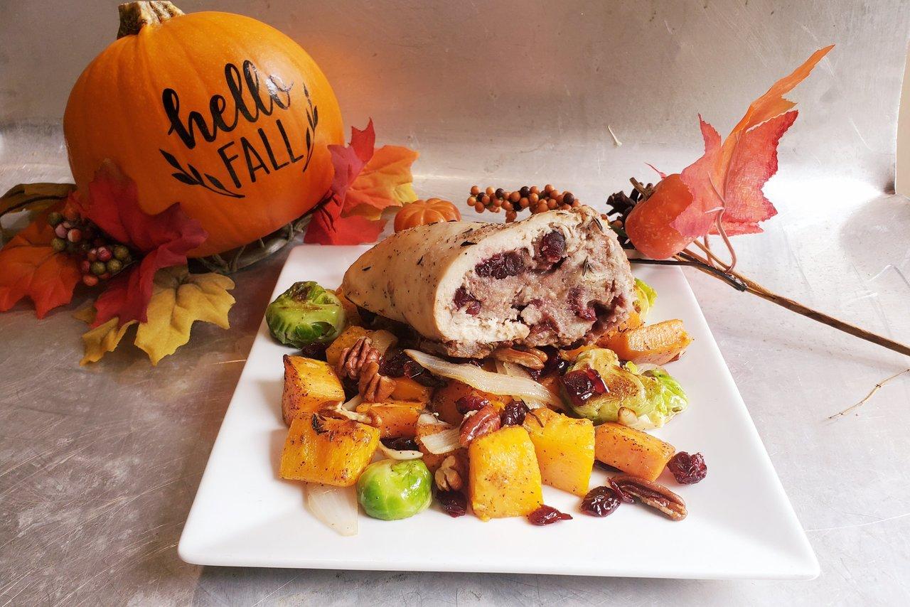 Wolfe's International - Autumn Harvest Stuffed Chicken