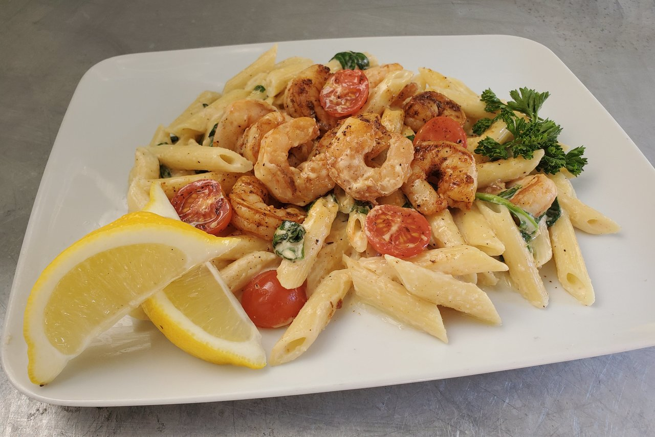 Wolfe's International - Cajun Shrimp Pasta