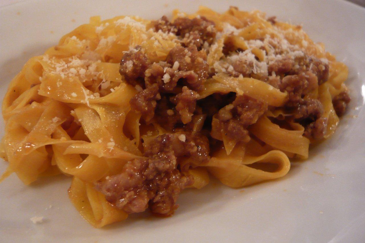 My Chef Kathy - Handmade Tagliatelle Alla Bolognese
